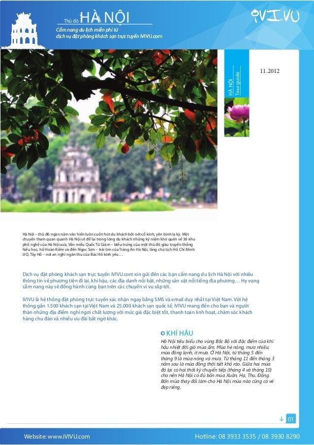 Cẩm nang du lịch Hà Nội (iVivu.com)