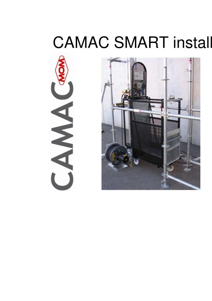 CAMAC SMART installation