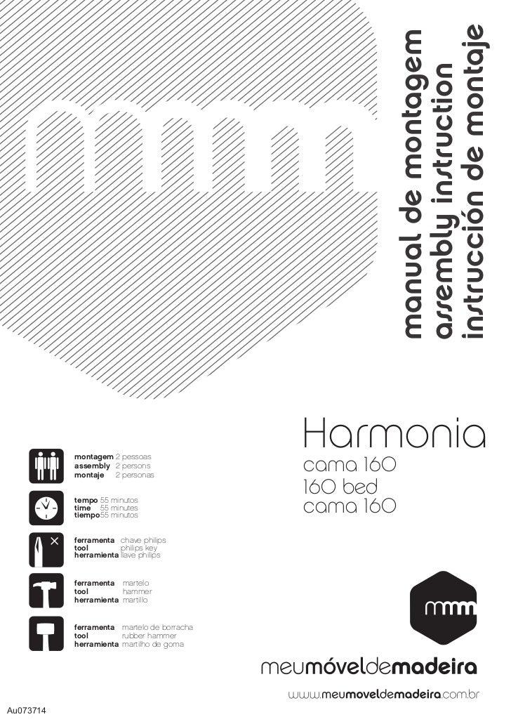 Cama Queen Size - Harmonia