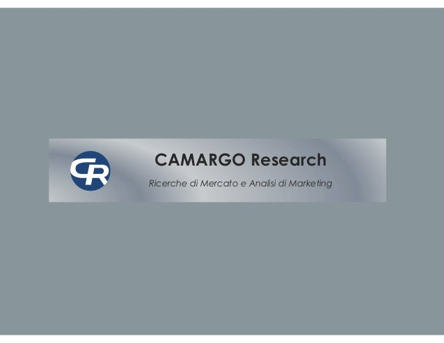 Camargo Research Profile