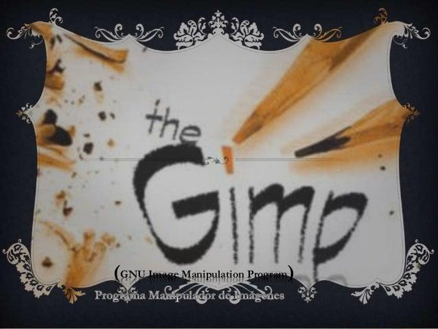 (GNU Image Manipulation Program)