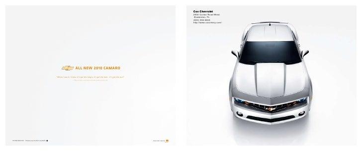 2010 Chevrolet Camaro Cox Chevrolet Tampa FL