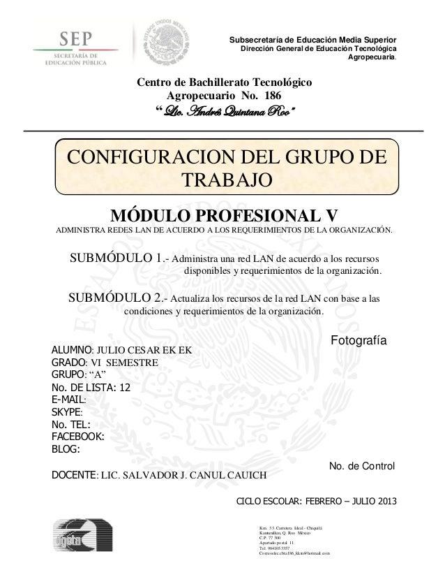 Subsecretaría de Educación Media Superior                                          Dirección General de Educación Tecnológ...