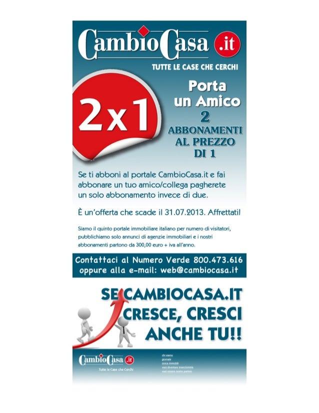 CambioCasa.it Promozione 2x1