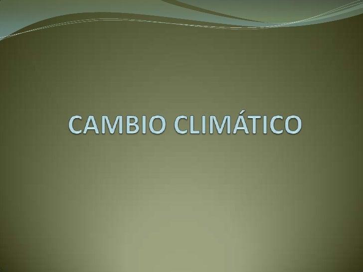Cambio climático (01)