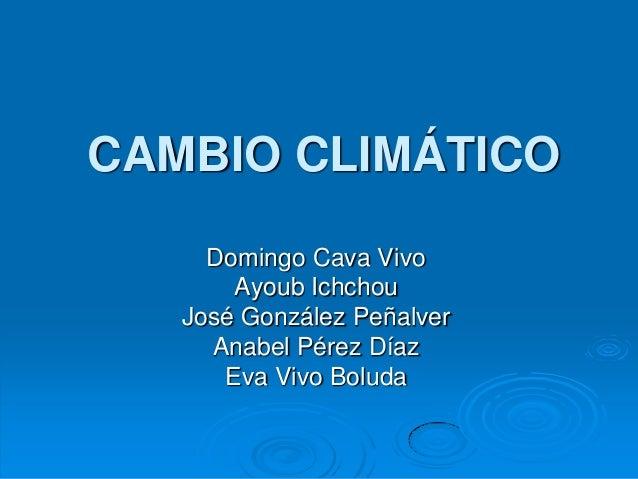Cambio climático21.ppt terminado