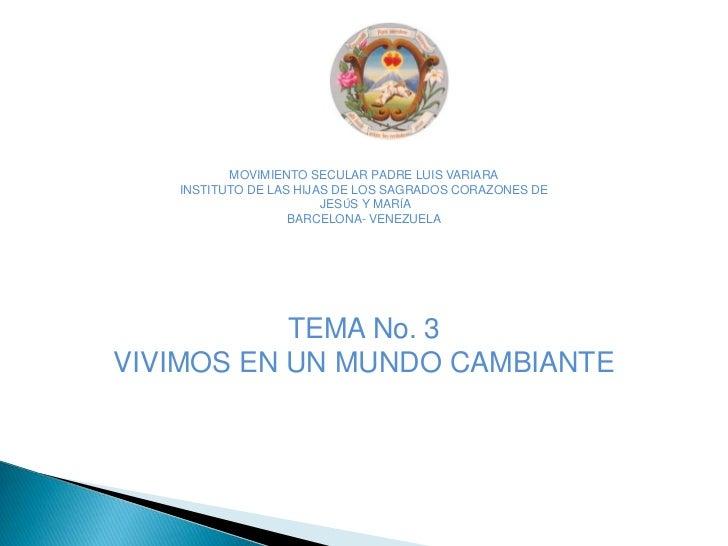 MOVIMIENTO SECULAR PADRE LUIS VARIARA<br />INSTITUTO DE LAS HIJAS DE LOS SAGRADOS CORAZONES DE<br /> JESÚS Y MARÍA<br />BA...