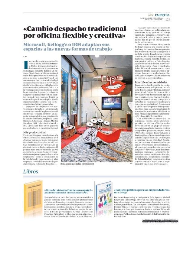 Cambio despacho tradicional por oficina flexible y creativa abc empre - Oficina de cambio barcelona ...