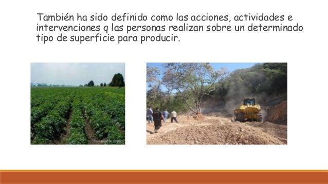 Cambio de uso de suelo for 4 usos del suelo en colombia
