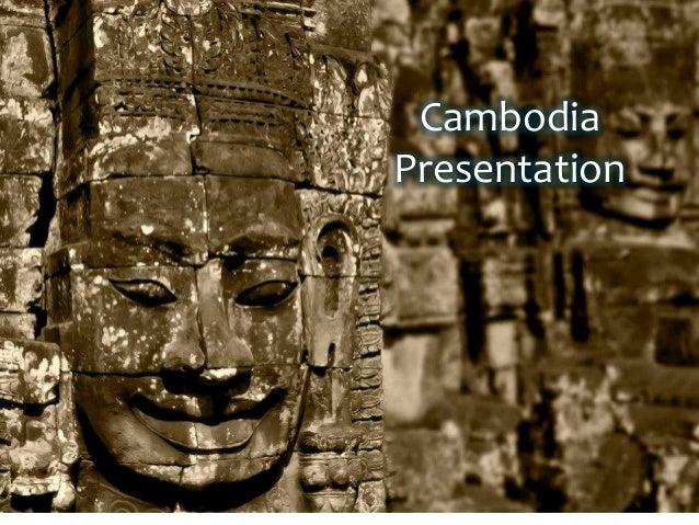 Cambodia Presentation