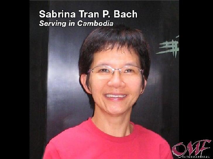 Sabrina to Cambodia