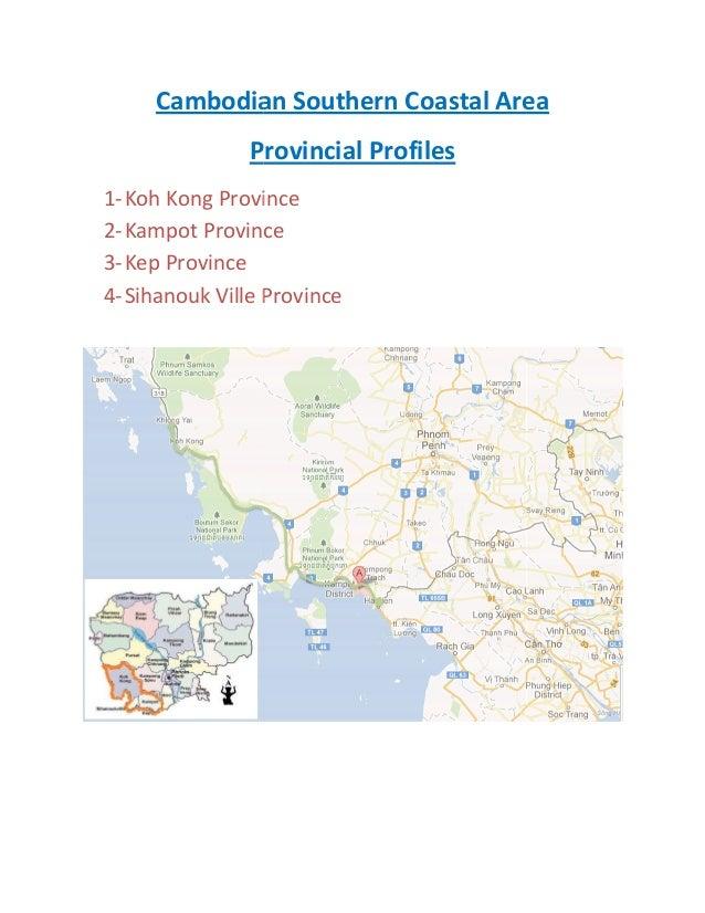 Cambodia provincial profile_southern_coastal_area