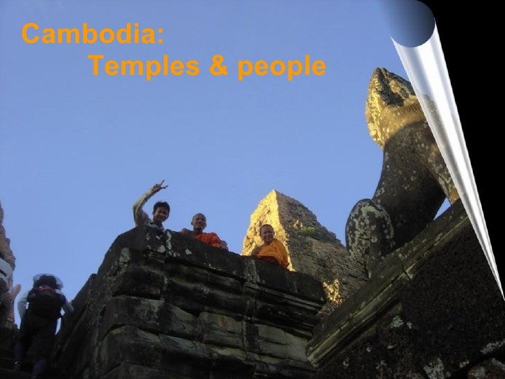 Cambodia: Temples & people