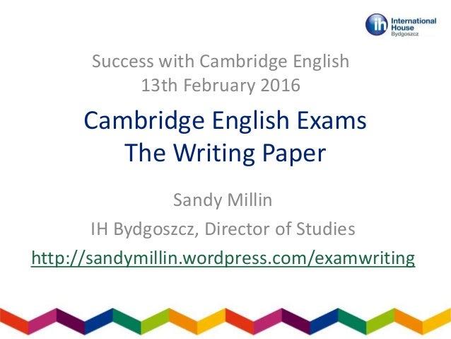 Cae Exam Essay Writing