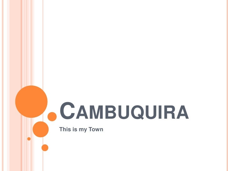 Cambuquira<br />This is myTown<br />