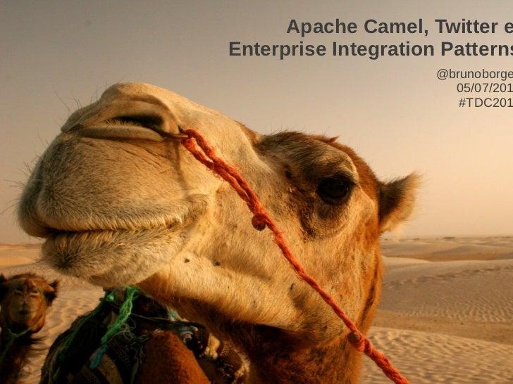 Twitter, Apache Camel e Enterprise Integration Patterns