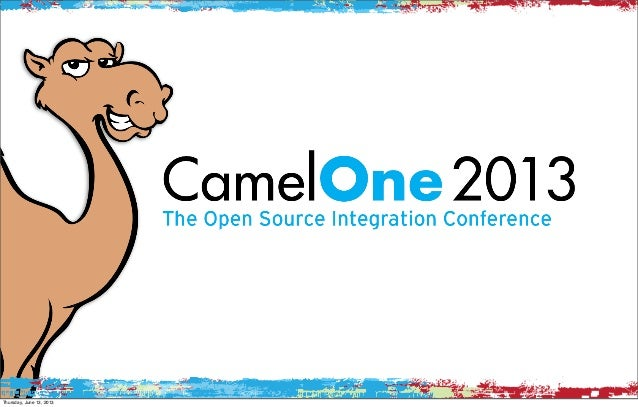 CamelOne Keynote: introducing the Apache Camel based open source iPaaS