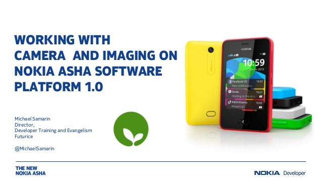 Working with camera and imaging on Nokia Asha software platform 1.0