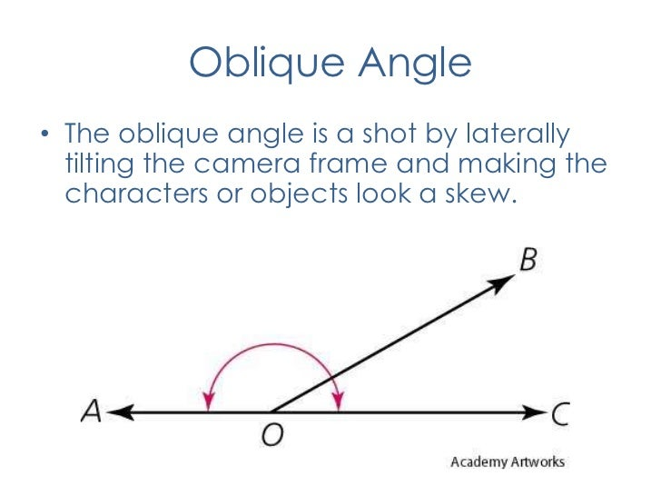 Image Gallery oblique angle camera