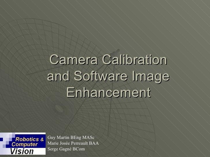 Camera Calibration Market
