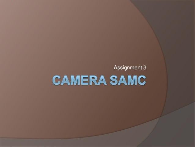 Camera samc