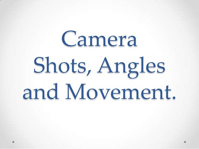 camera angles and movement Learn to analyze footage and extract camera motion using the 3d camera tracker effect in after effects.