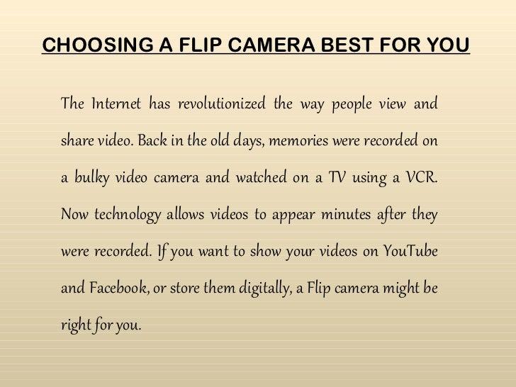 Cameras reviews