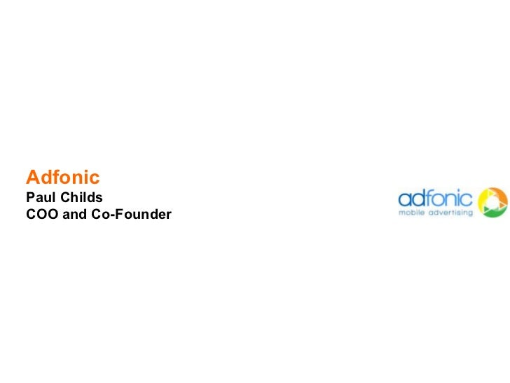 AdfonicPaul ChildsCOO and Co-Founder