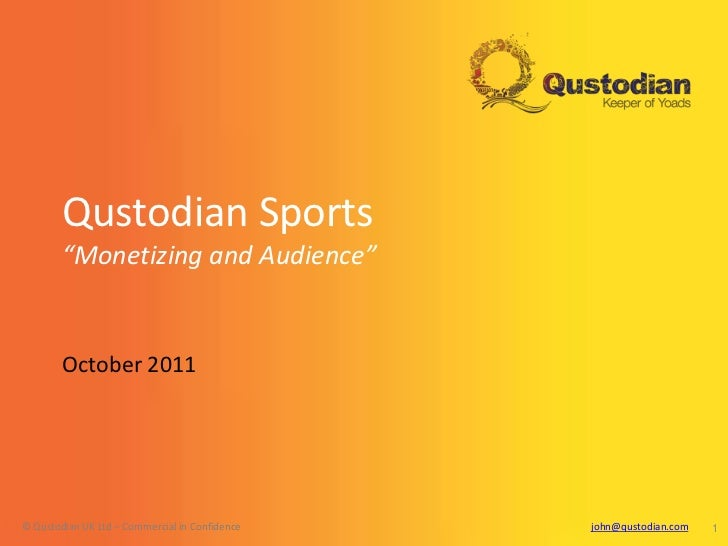 Camerjam qustodian mobile sport masterclass