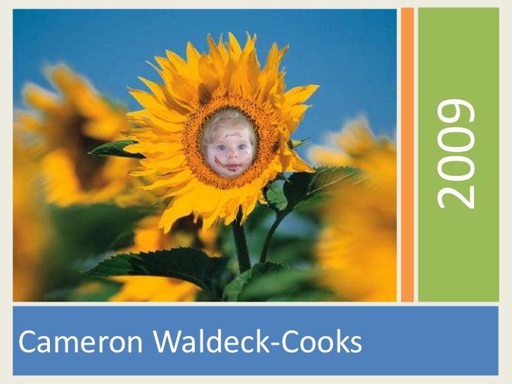 2009Cameron Waldeck-Cooks