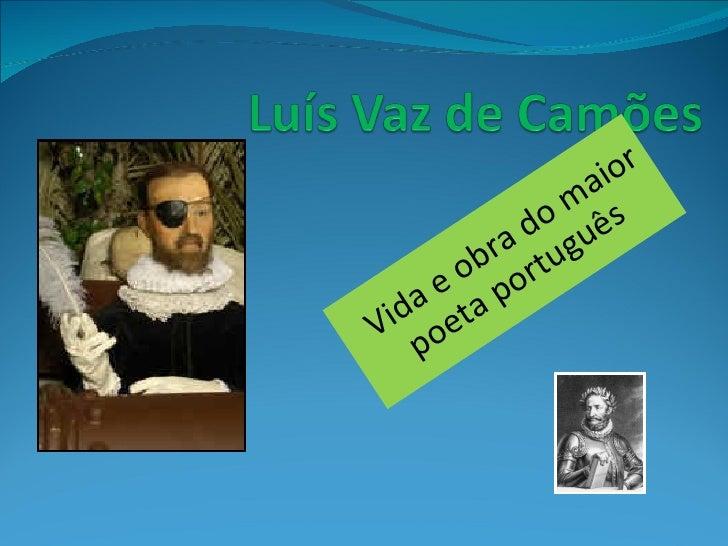 Luis de Camoes trabalhos