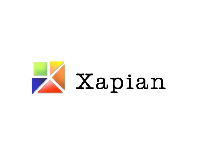 The Xapian Open Source Search Engine
