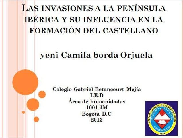 PRIMERAS MANIFESTACIONES LITERARIAS ESPAÑAS