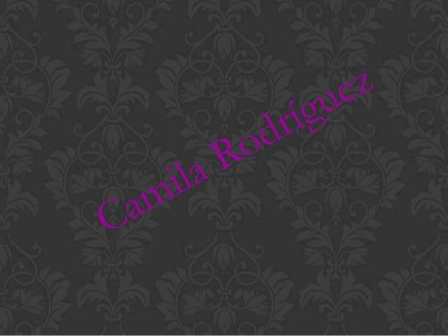 Nombre : Camila RodríguezFecha de nacimiento : 1 de marzo del2000Edad : 12 añosColegió : San Francisco de AsísCurso : 8 añ...