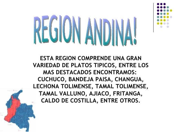 Gastronomia de las regiones de colombia for Comida tradicional definicion