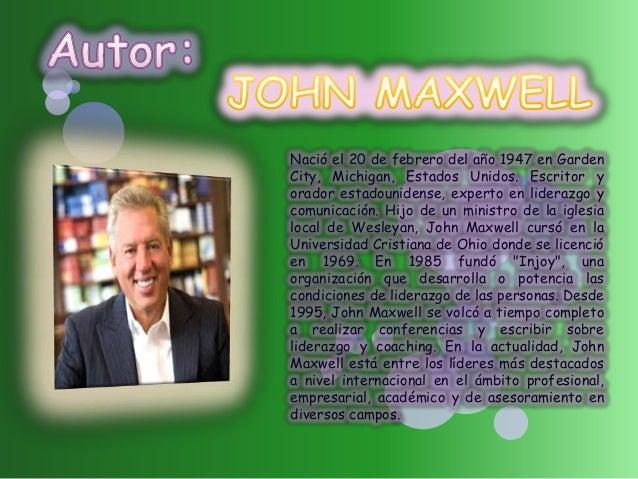 Nació el 20 de febrero del año 1947 en Garden City, Michigan, Estados Unidos. Escritor y orador estadounidense, experto en...