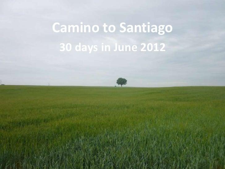 Camino to Santiago - Images