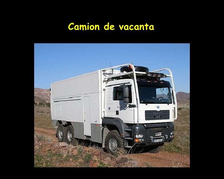 Camion De Vacanta