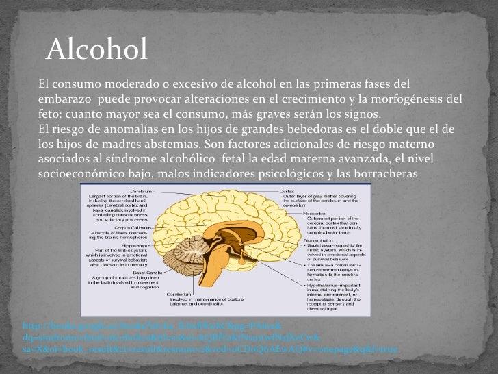 Progredientnost las corrientes del alcoholismo