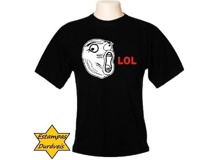 Camiseta lol, frases camiseta