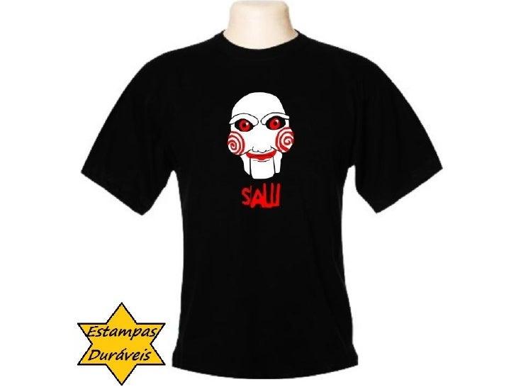 Camiseta saw, frases camiseta