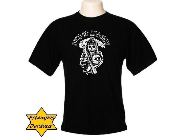 Camiseta sons of anarchy,        frases camiseta