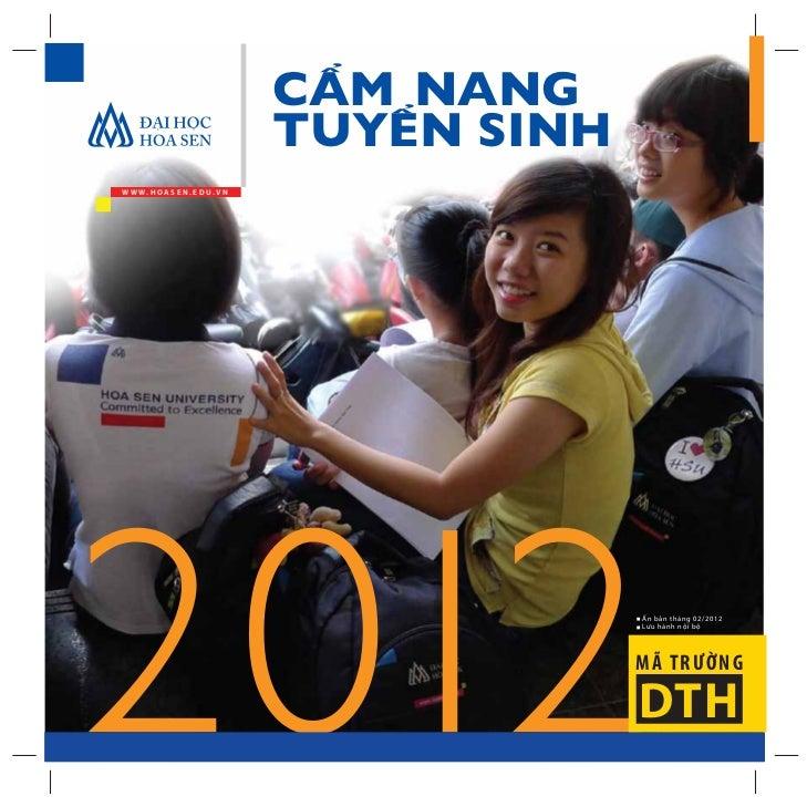 Cẩm nang tuyển sinh 2012