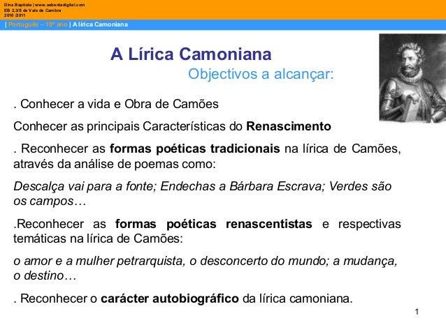Luis de Camoes tematicas