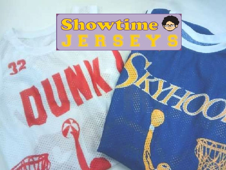 Camon Bussiness   Showtime Jerseys