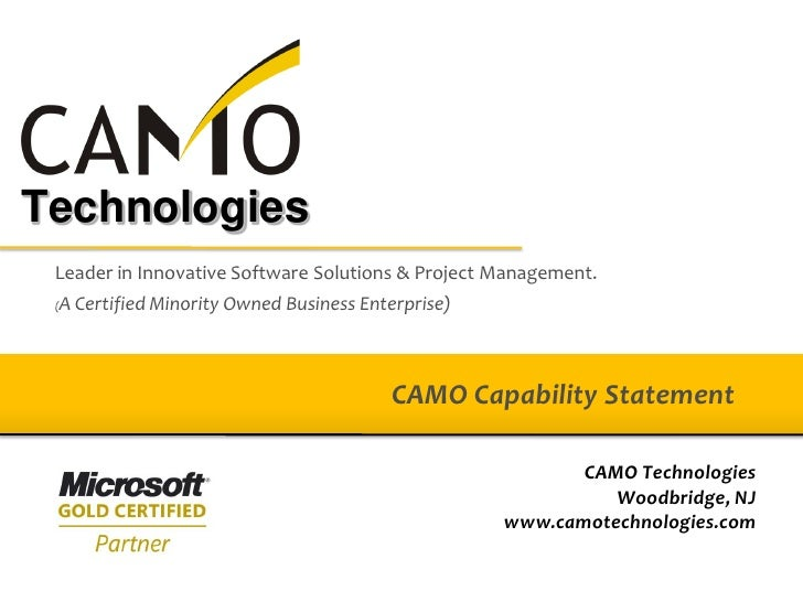 Technologies  Leader in Innovative Software Solutions & Project Management.  A Certified Minority Owned Business Enterpris...