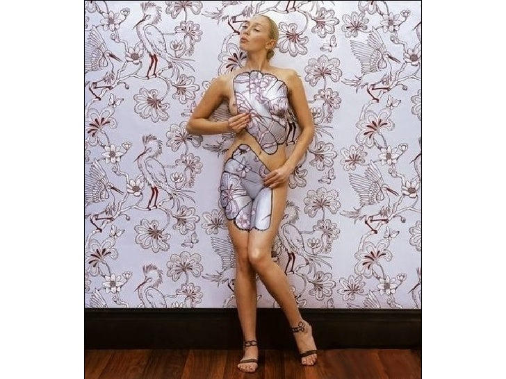 Camouflaged Body Paintings