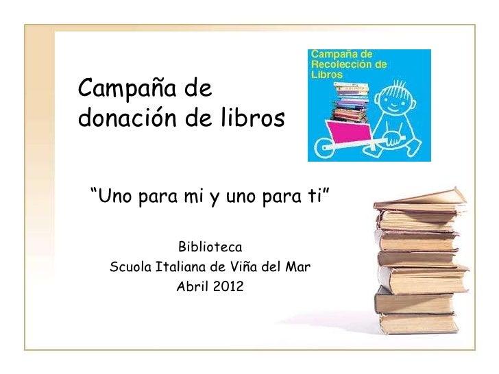 Campa a de donacion - Libros para relajar la mente ...