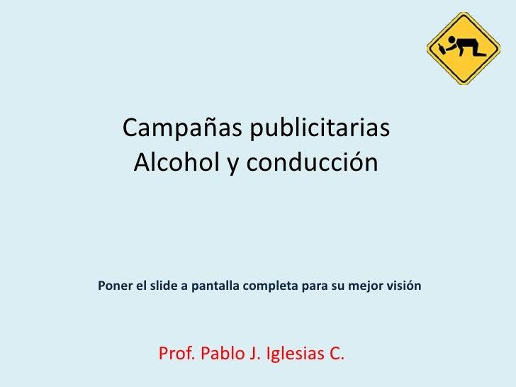 Campañas publicitarias alcohol