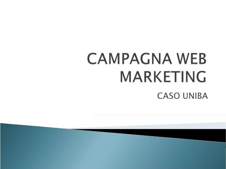 Campagna web marketing